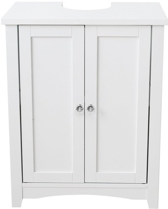 Lloyd Pascal Bude Undersink Cupboard (includes Chrome and Crystal Handles)