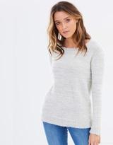Sass Ariella Fluffy Lurex Knit