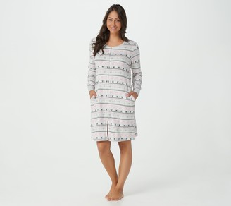 Muk Luks Cozy Mornings Fleece Sleepshirt