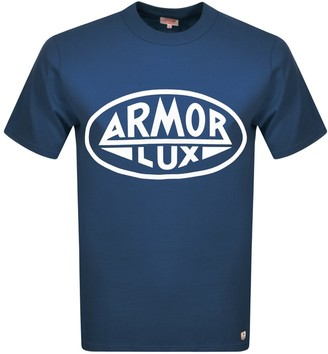 Armor Lux Heritage Serigraphy T Shirt Navy