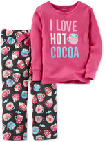 Carter's 2-Pc. Hot Cocoa Pajama Set, Little Girls (2-6X) & Big Girls (7-16)