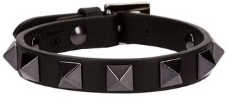 Valentino studs leather bracelet