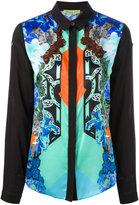 Versace printed panel shirt - women - Silk/Viscose - 40