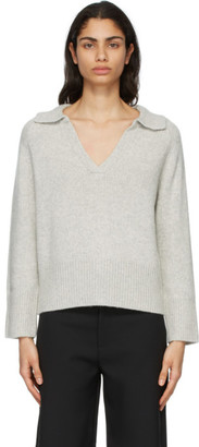 Arch4 Grey Cashmere Clifton Gate Sweater