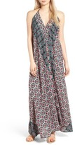 Raga Women's Electric Nights Halter Maxi Dress