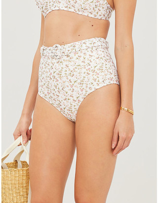 Peony Swimwear La Boheme stretch-recycled polyamide bikini bottoms