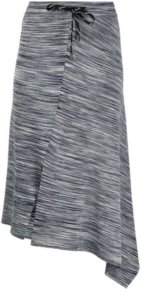 MRZ Asymmetric Hem Skirt