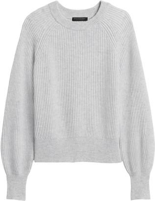 Banana Republic Cashmere Blouson-Sleeve Sweater