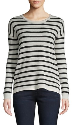 Amicale Striped Cashmere Sweater