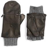 Echo Women's Touch Glitten Knit & Leather Gloves