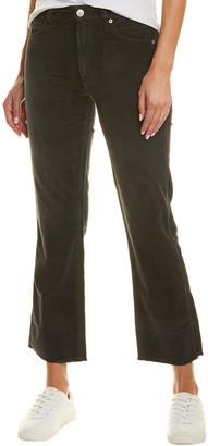 Amo Bella Vintage Black Velveteen High-Rise Slight Bootcut Jean