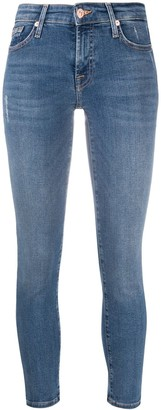 7 For All Mankind Pyper cropped skinny jeans