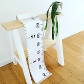 Dulcii Ready To Hang Kids Canvas Height Growth Chart,Measures Babies to Adults(0-79 inches)