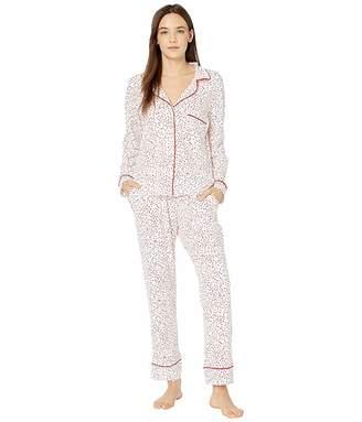 The Cat's Pajamas Confetti Dot Pima Knit Pajama Set
