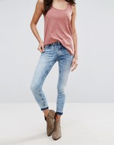 Only Ultimate Unturned Ankle Skinny Jeans