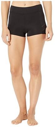 Bloch Ladder Trim Shorts (Black) Women's Shorts