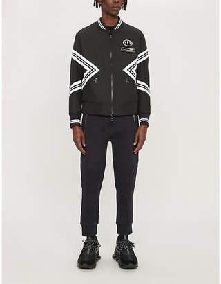 Neil Barrett Varsity zip-up bomber jacket
