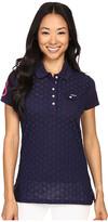 U.S. Polo Assn. Pique Woven Eyelet Pocket Polo Shirt
