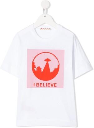 Marni graphic print T-shirt