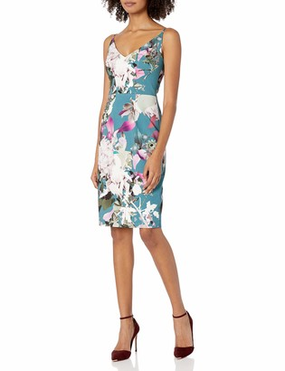 Black Halo Women's Jevette Floral Sheath Dress