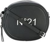 No.21 logo plaque shoulder bag - women - Leather - One Size