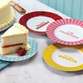 Cake BossTM Quotes 4-pc. Dessert Plate Set
