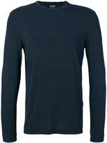 Giorgio Armani long sleeve T-shirt - men - Spandex/Elastane/Viscose - 52