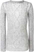 Ermanno Scervino aran knit sweater