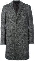 Lanvin concealed fastening overcoat - men - Polyamide/Viscose/Wool/Alpaca - 50