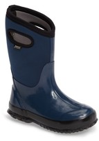 Bogs Boy's Classic Solid Waterproof Rain Boot