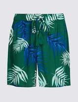 Marks and Spencer Leaf Print Casual Shorts