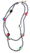 BaubleBar Women's Guadeloupe Pompom Necklace