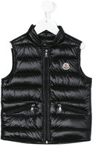 Moncler padded gilet - kids - Feather Down/Polyamide - 4 yrs