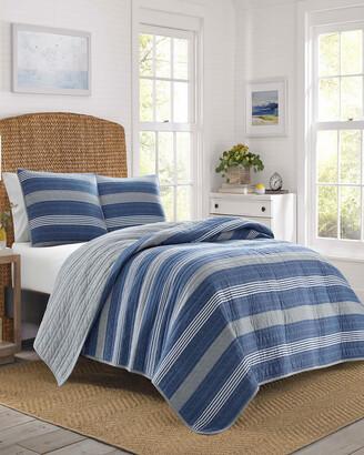 Nautica Saltmarsh Blue Quilt Set