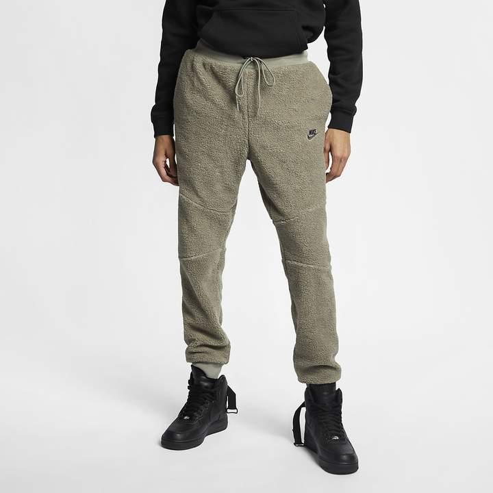 Nike Men's Sherpa Joggers Sportswear Tech Fleece Icon