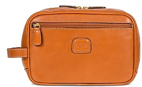 Bric's Life Pelle Traditional Leather Toiletry Kit