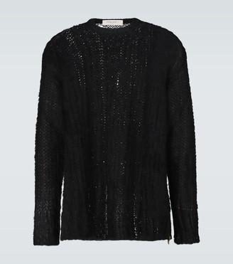 Golden Goose Algar mohair-blend sweater