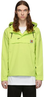 Carhartt Work In Progress Green Nimbus Pullover Jacket