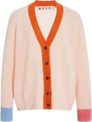 Marni Multi-Color Cashmere Cardigan