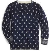 J.Crew J. CREW Bandana Print Tippi Sweater