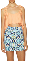 Rachel Pally Kimila Drawstring Shoulder Top