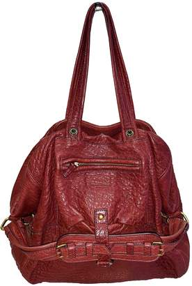 Jerome Dreyfuss Billy Burgundy Leather Handbags