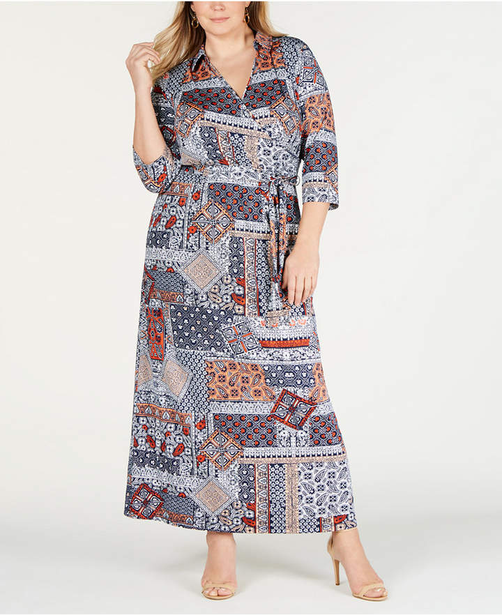 5d25eff99d3 Plus Size Maxi Dress Empire Waist - ShopStyle