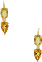 Ileana Makri Oval & Pear Earrings