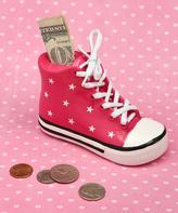 Pink Sneaker Bank - Infant