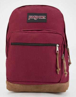 JanSport Right Pack Burgundy Backpack