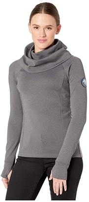 Spyder Distinct T-Neck (Black) Women's Sweatshirt