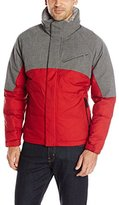 Nautica Men's Color Block Quilted Bomber Jacket