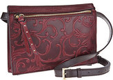 Tignanello As Is Vintage Leather Belt Bag- Mojave