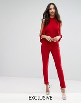 Club L Open-Sleeve Jumpsuit